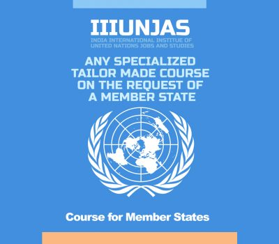 UN Specialized Tailor-made Courses
